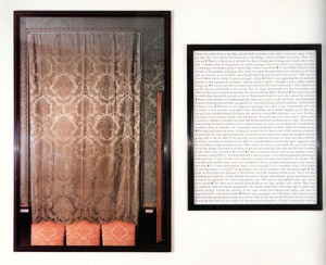 A work from Sophie Calle's Last Seen...series, 1991